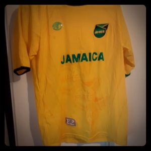 Authentic Jamaican Football Jersey